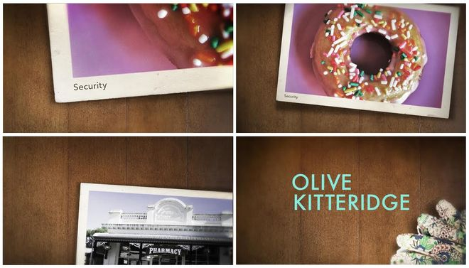 IMAGE: Olive Kitteridge promo graphics package