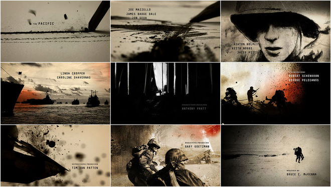 VIDEO: Title Sequence – The Pacific (2010)