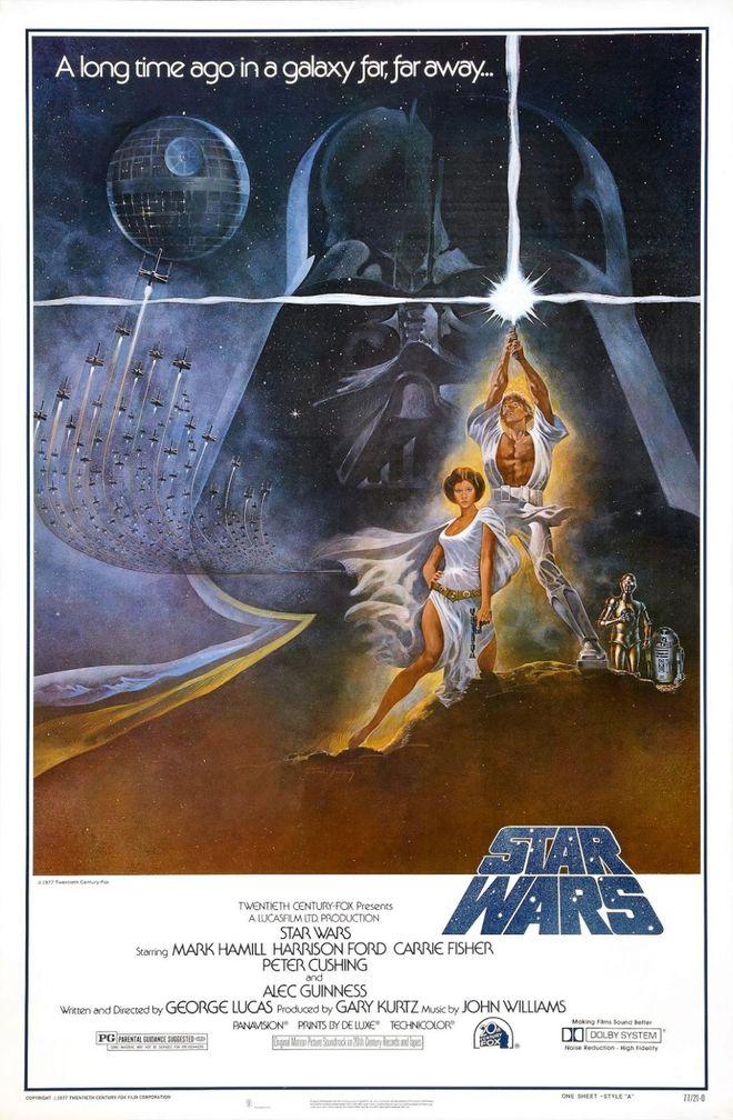 IMAGE: Star Wars Poster Dan Perri Logo