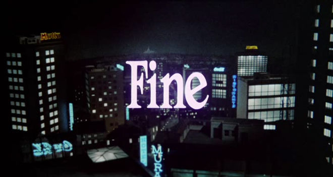 "IMAGE: ""Fine"" end card"