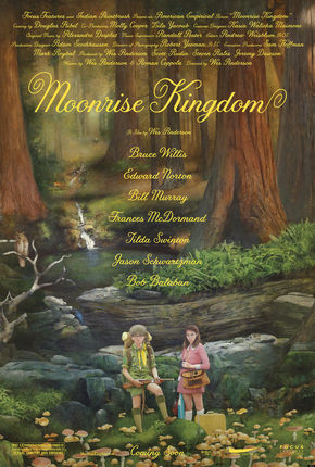 Image: Moonrise Kingdom forest poster