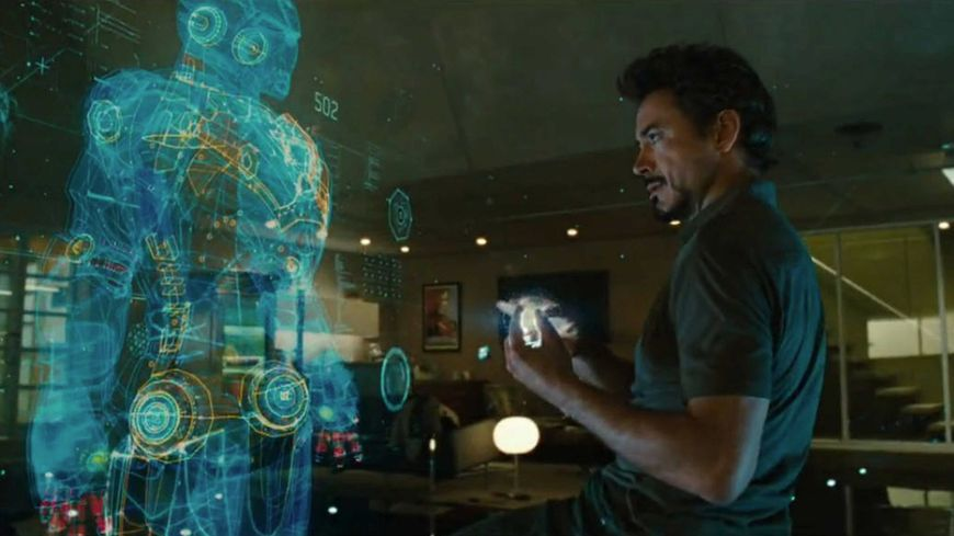 IMAGE: Still – Iron Man interface designed by Prologue