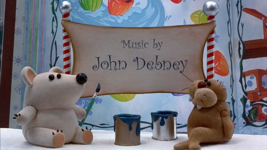 IMAGE: Still - music credit, bear, and walrus