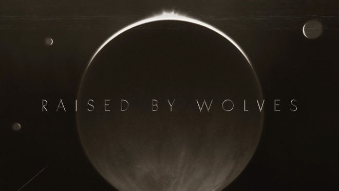 IMAGE: Raised by Wolves main title card