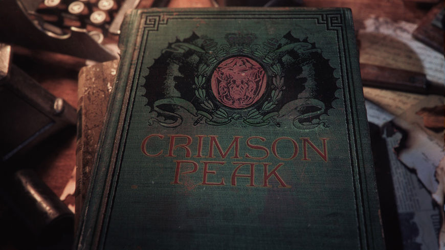 IMAGE: Crimson Peak Title Card