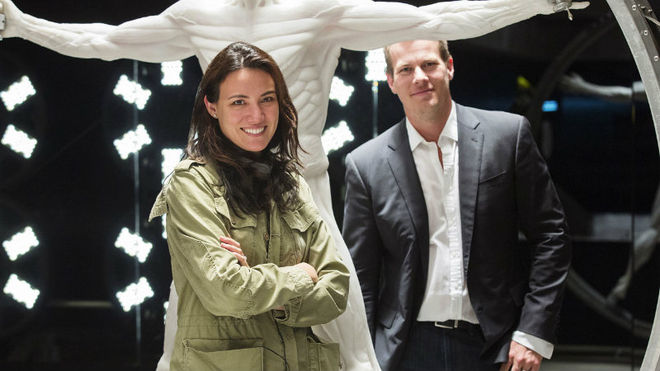 IMAGE: Lisa Joy and Jonathan Nolan