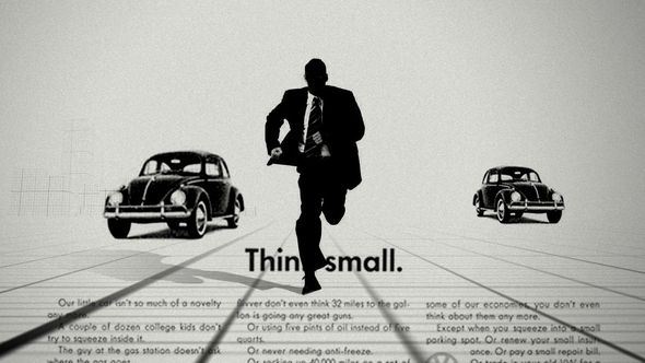 VW Beetle chase