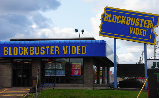 IMAGE: Blockbuster video RIP old pal