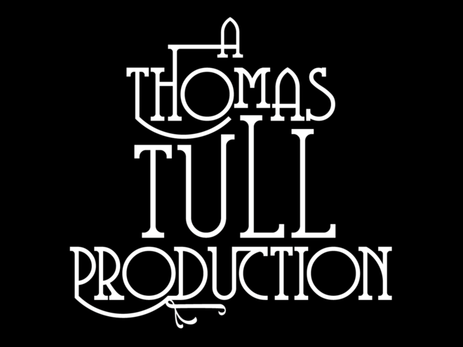 "Early design for the ""T.Tull Production"" tag"