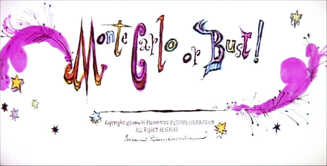 IMAGE: Monte Carlo or Bust! title card