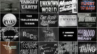 They Came From Within: B-Movie Title Design of the 1940s & 1950s