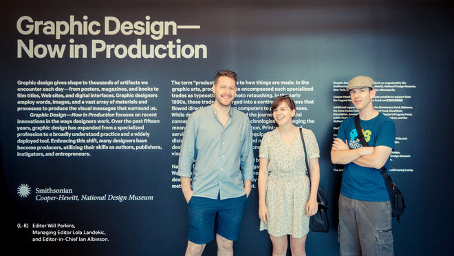 IMAGE: Graphic Design: Now In Production group photo
