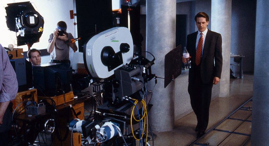 IMAGE: Dead Ringers Motion Control Camera On Set