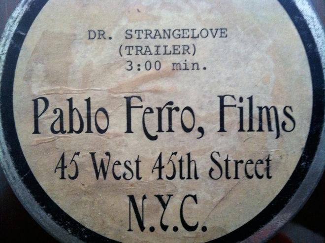 I: Dr. Strangelove trailer canister