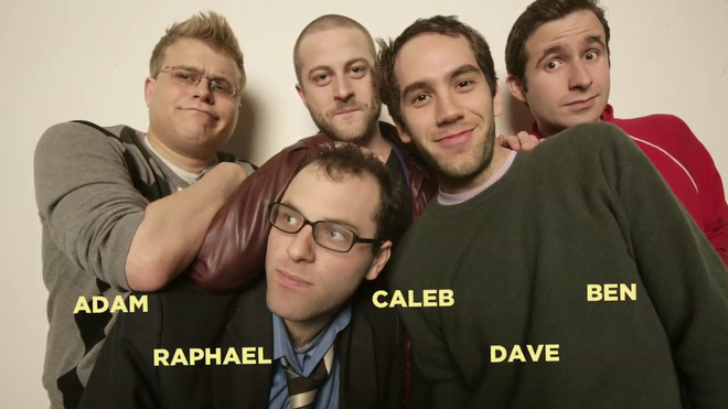 IMAGE: Olde English sketch comedy troupe from The Exquisite Corpse Project movie