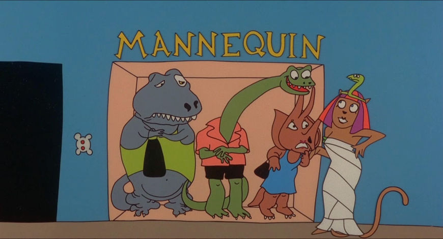 VIDEO: Title Sequence –Mannequin by Sally Cruikshank