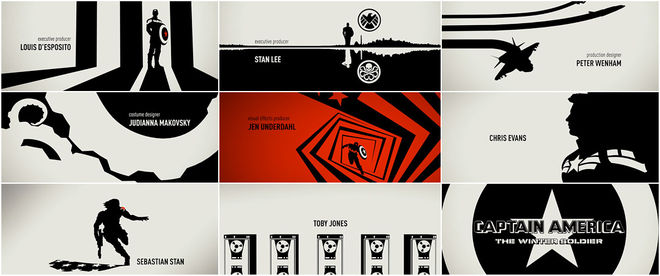 Captain America: The Winter Soldier Title Sequence