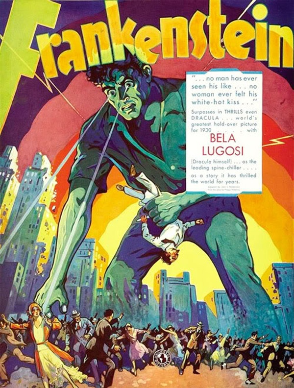 IMAGE: Bela Lugosi Frankenstein poster