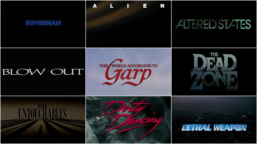 R/Greenberg Associates: A Film Title Retrospective