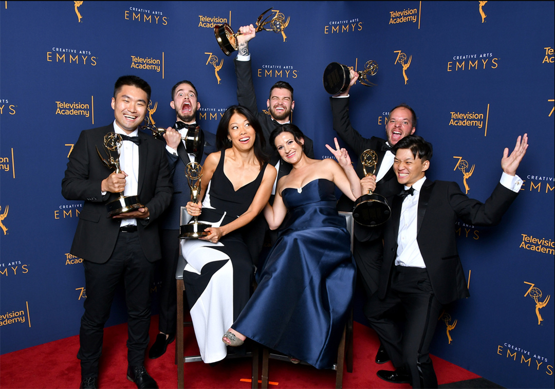 IMAGE: Emmy group photo