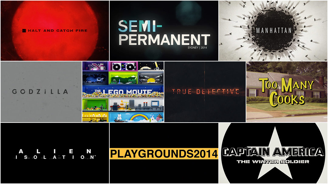 Top 10 Title Sequences of 2014
