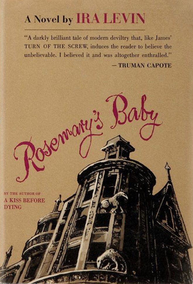 IMAGE: Rosemary's Baby (1967) Book Cover